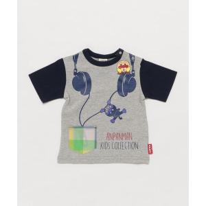 tシャツ Tシャツ 【アンパンマン】ヘッドフォン柄Tシャツ