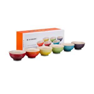 食器 ミニ・ボール(6個入り) レインボーコレクション