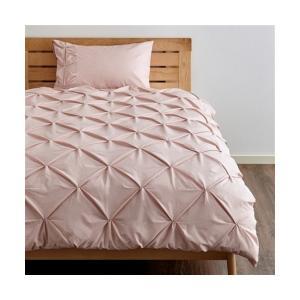 ベッド 寝具 【シングル】パロン 掛け布団カバー ピンク(W1500xD2100mm)