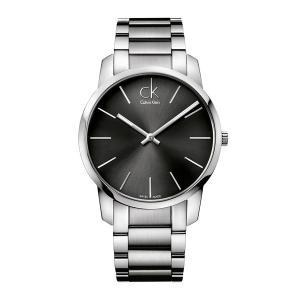 [カルバンクライン] CALVIN KLEIN 腕時計 City(シティ) 2針 シルバー×クールグ...