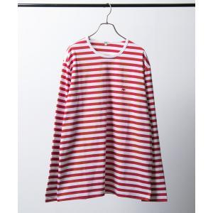 tシャツ Tシャツ Scye×URBAN RESEARCH 別注BORDER LOGO ロングスリー...