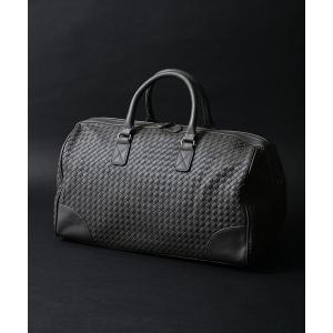 バッグ ボストンバッグ 2サイズ イントレチャートボストンバッグ