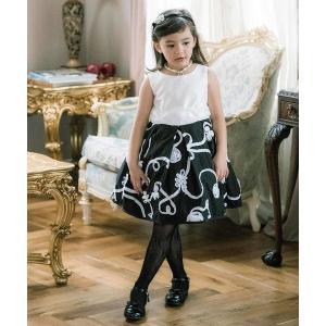 ドレス テープ刺繍ドレス