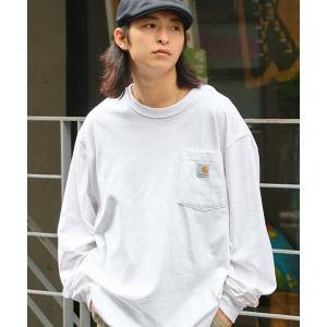 tシャツ Tシャツ carhartt(カーハート) Workwear Pocket Long-Sleeve T-Shirts ポケットロングTシャツ ZOZOTOWN PayPayモール店