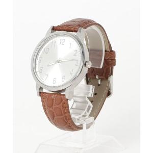 腕時計 【dictionary】ビック フェイス ウォッチ(型押しベルト)|ZOZOTOWN PayPayモール店