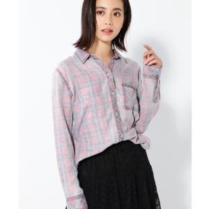 (RAILS)淡色チェックシャツ
