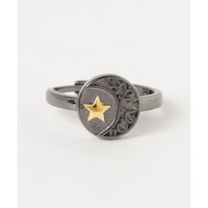 【14 BURNER SELECT】925シルバー  変形デザイン リング フリーサイズ