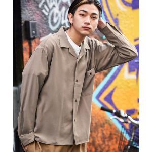 シャツ ブラウス ▽WEB限定 KANGOL/カンゴール 別注 L/Sリラックスオープンカラーシャツ 2021SPRING|ZOZOTOWN PayPayモール店