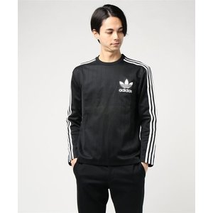 adidas Originals BASEBALL CREW (ブラック/ホワイト)