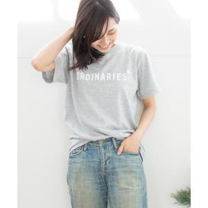 tシャツ Tシャツ ALL ORDINARIESストレートロゴT 2019