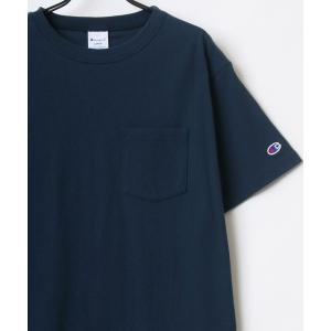 tシャツ Tシャツ 2020S/S Champion/チャンピオン ポケット クルーネック Tシャツ
