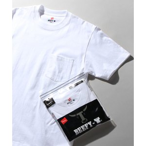 【HANES】ビーフィーポケットTシャツ