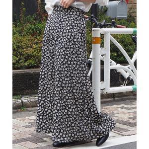 スカート 【web限定アイテム】アソートAラインロングスカート