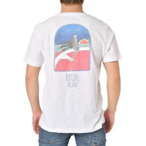 tシャツ Tシャツ 【RIP CURL リップカール】メンズバックプリントTシャツ/半袖 サーフカジ...