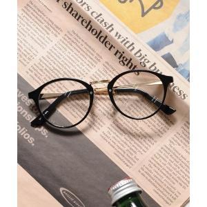 ウエリントン型 ボストン型 サーモント型 だてメガネ UVプロテクト / ZOZOSJ19-01【+...