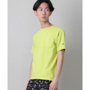 tシャツ Tシャツ 【Champion】T1011米綿半袖ポケットTシャツ