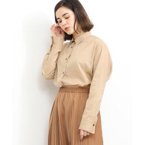 コットン麻ローンシャツ