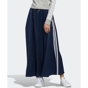 スカート ロング サテン スカート [LONG SATIN SKIRT] アディダスオリジナルス