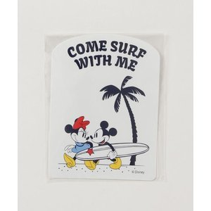 ステッカー Disney(ディズニー)【SURF MICKEY】STICKER / COME SUR...
