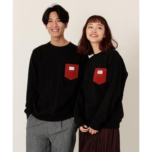 【女性にもオススメ】SMITH別注ポケットスウェットクルーネック19FW(トレーナー)(一部WEB限...