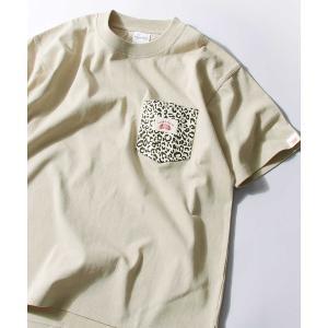 tシャツ Tシャツ 【限定別注】Nilway×ROUND HOUSE USコットンポケット付きビッグ...