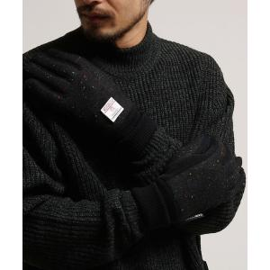 Harris Tweed ハリス ツィード生地使用 手袋 グローブ