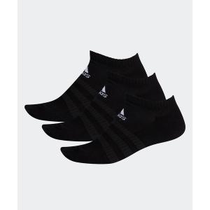 靴下 クッション ローカット ソックス 3足組み [Cushioned Low-Cut Socks 3 Pairs]の画像