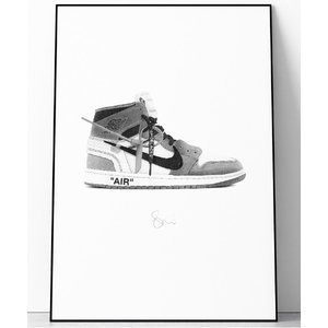 ポスター 『Steph f Morris』NIKE THE10 OFF WHITE AIR Jord...