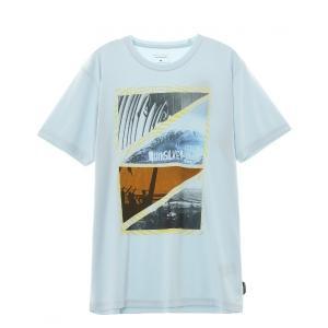 ラッシュガード DREAM SS/クイックシルバー 水着 ラッシュガード 半袖 Tシャツ