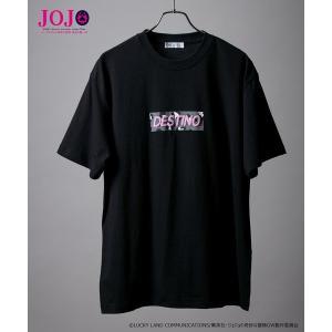 tシャツ Tシャツ 【ジョジョの奇妙な冒険】ディアボロ ボックスロゴ コラボTシャツ / JOJO