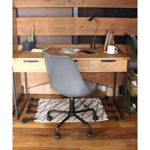 NO-FP caster chair industrial gray / ノーエフピーキャスターチェ...