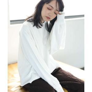 【WEB限定】CUT OFF LOOSE SWEAT PO/ガゼット裏毛カットプルオーバー〇☆*