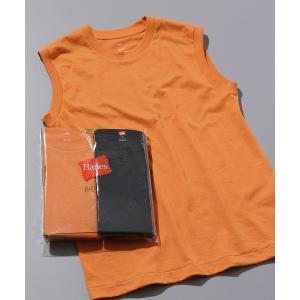 tシャツ Tシャツ 【Hanes FOR BIOTOP】Sleeveless T-Shirts(カラ...
