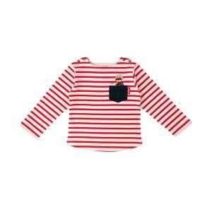 tシャツ Tシャツ 【アンパンマン】ボーダーポケット長袖Tシャツ
