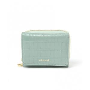 財布 オリジナルロゴ3つ折り財布