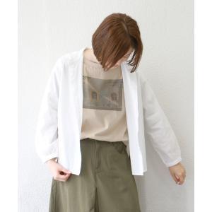 コットンちび襟シャツ