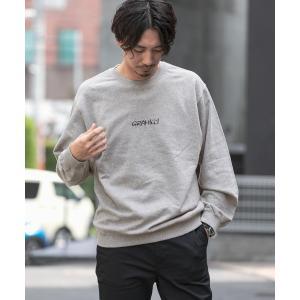 GRAMICCI別注 刺繍ロゴスウェット