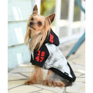 ペット EDWIN/エドウイン/ロゴ パーカー/犬服(ドッグウェア)