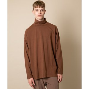 CASPER JOHN AIVER LOOSE HIGH-NECK BIG L/S TEE