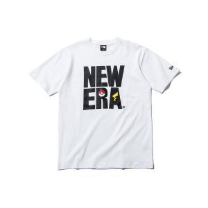 ニューエラ ポケモン コラボ Tシャツ SQUARE LOGO NEW ERA POKEMON