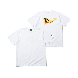 ニューエラ ポケモン コラボ Tシャツ FLAG LOGO PIKACHU NEW ERA POKE...