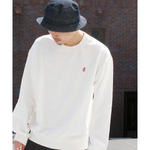 GRAMICCI /グラミチ SWEAT SHIRTS ランニングマン刺繍 スウェット シャツ 95...