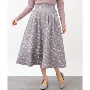 冬の花言葉のあるスカート*