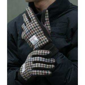 HARRIS TWEED/ハリスツィードスマホ対応手袋