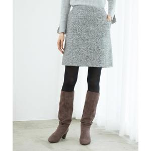 ブークレー台形ミニスカート