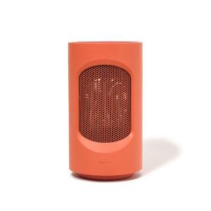 セルカ 首振り付きミニファンヒーター オレンジ