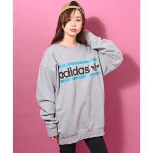 adidas(アディダス)TREFOIL ロゴ クルー スウェット