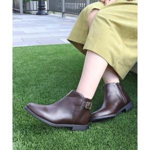 ブーツ 履き心地やわらか、美シルエットショートブーツ