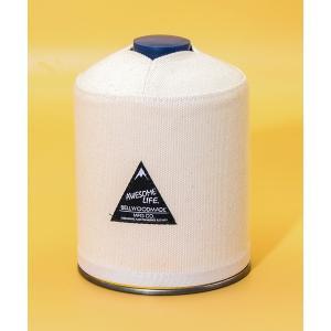 インテリア 【BELLWOODMADE (ベルウッドメイド) 】 アウトドア ガス缶カバー GasCostume_500 CANVAS(キャンバス)