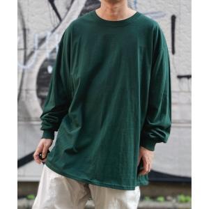 HANES(ヘインズ) / BEEFY ビーフィー コットン クルーネック ロングスリーブTシャツ ...